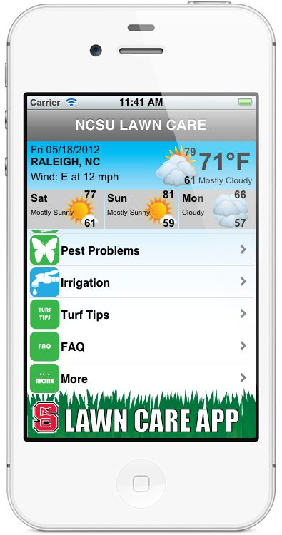 NCSU Lawn Care App For IPhone And Android