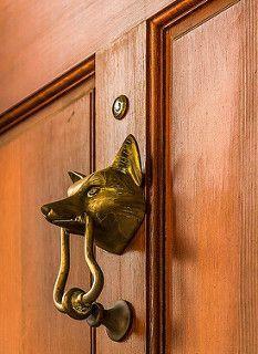 Fox Door Knocker   Par Doddsjzi