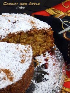 Tante Kiki: Κέικ με μήλο, καρότο και σταφίδες... χειμωνιάτικη λιχουδιά