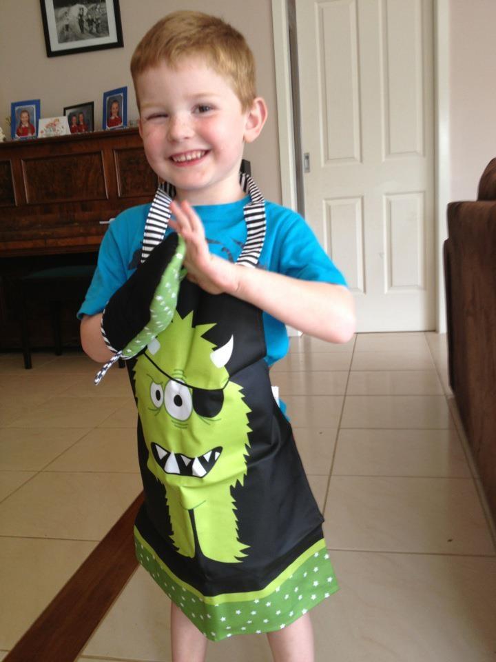 'Monstars' Kids' Chef Set, courtesy of Lauren Parsons