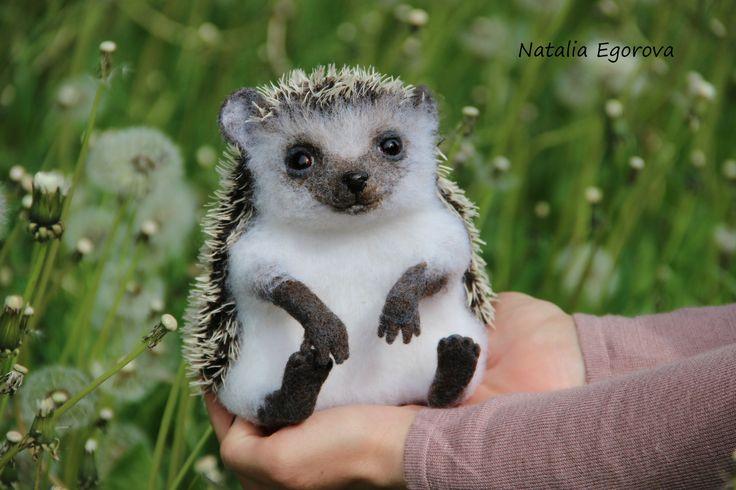 Needlefelted creature by Natalia Egorova Saint-Petersburg,Russia
