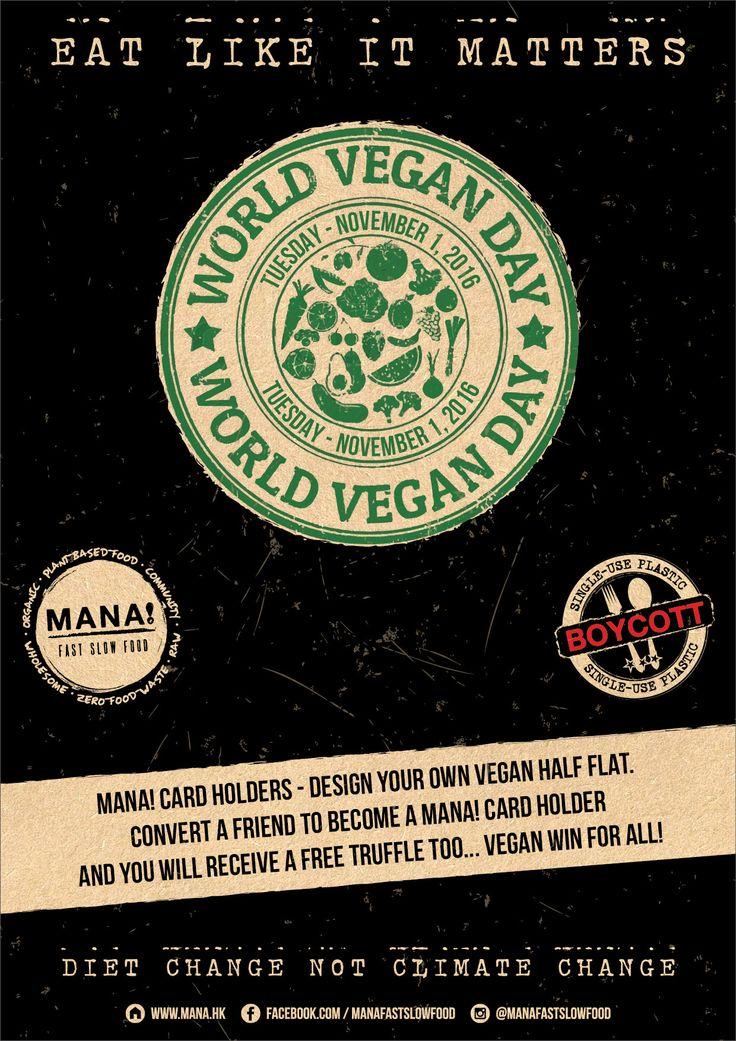 2016.11.01 - MANA! Community Days (World Vegan Day)