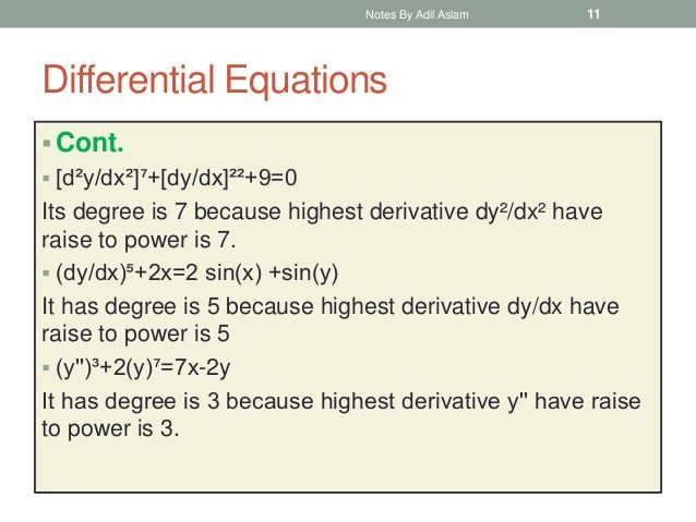Differential Equations In 2020 Differential Equations Equations Partial Differential Equation