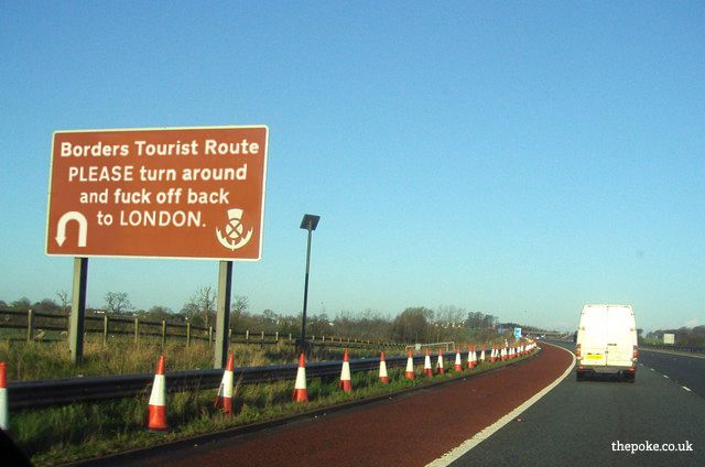 Funny (spoof) British Road signs