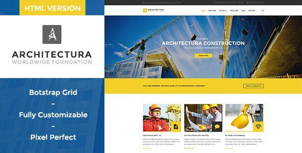 ARCHITECTURA – CONSTRUCTION HTML TEMPLATE