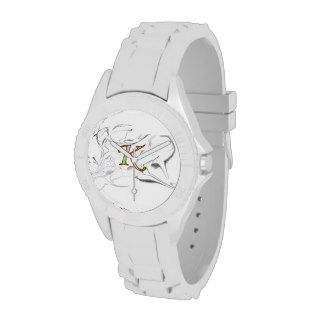 kush urban wear& apperrel classy sports watch silicone  wristband trademark ogo desighn v.1  http://www.zazzle.com/kushurbanwear*