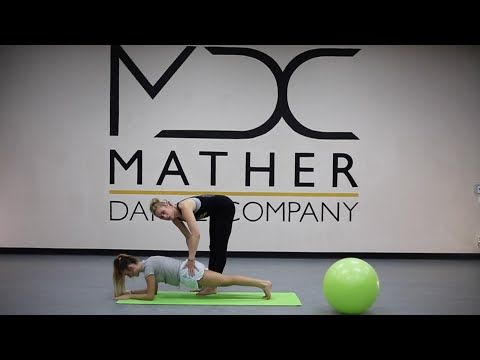 Sample Stretch class for Mather Dance Company Online - YouTube