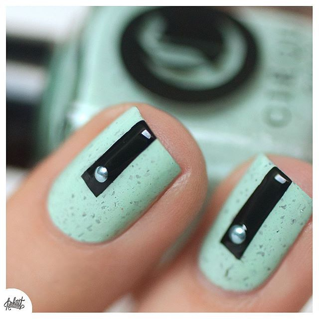 Grafic Design Nails, pshiiit_polish
