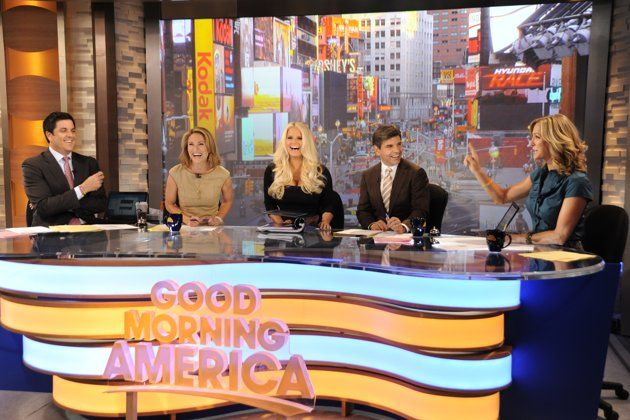 Good Morning America Hosts | Jessica Simpson Guest Hosts 'Good Morning America' - Yahoo