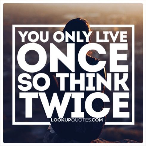 You Only Live Once Pictures, Photos, and Images for ...  |You Only Live Once Drawing