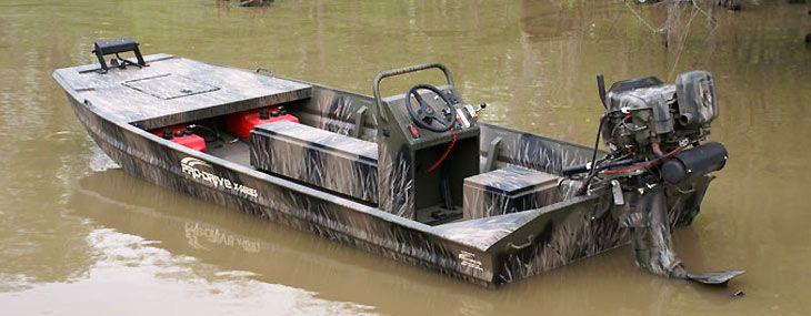 X Series Shallow Water Boat with Center Console