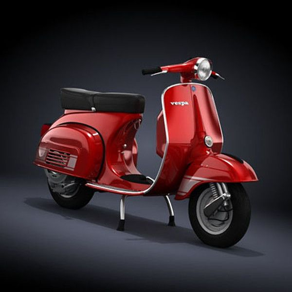 Ahhhh, the Vespa.  I love me a Vespa...and even got one of my own!  This is a 1972 Vespa200 Rally.