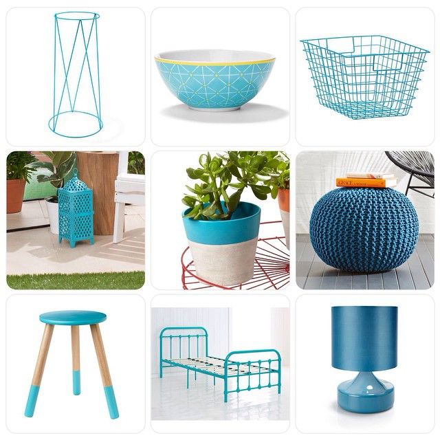 Kmart Blue Interior decorating
