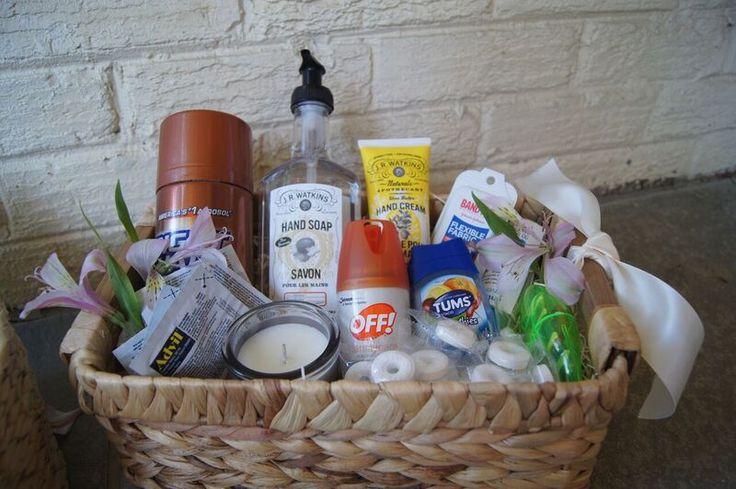 8 best images about restoom amenity baskets marigold for Amenity baskets for wedding bathrooms