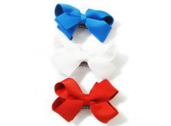 Are you ready to celebrate your country in style? Get this patriotic bows for 20% off and get the party started!  http://www.babywisp.com/proddetail.php?prod=3pack-llc1btq-patriot