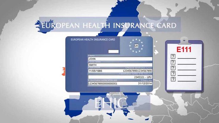Tarjeta Sanitaria Europea (Made in UK)