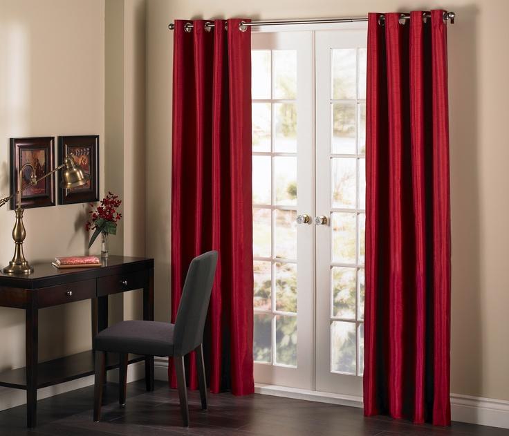 """Tiffany   grommet curtain panel // rideau à oeillets  54x85"""""""