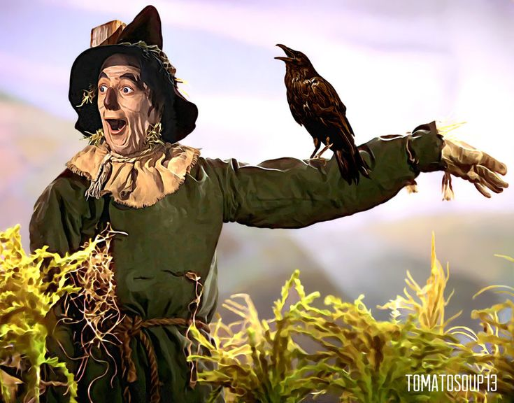 The Scarecrow - The Wizard of Oz - Ray Bolger by tomatosoup13