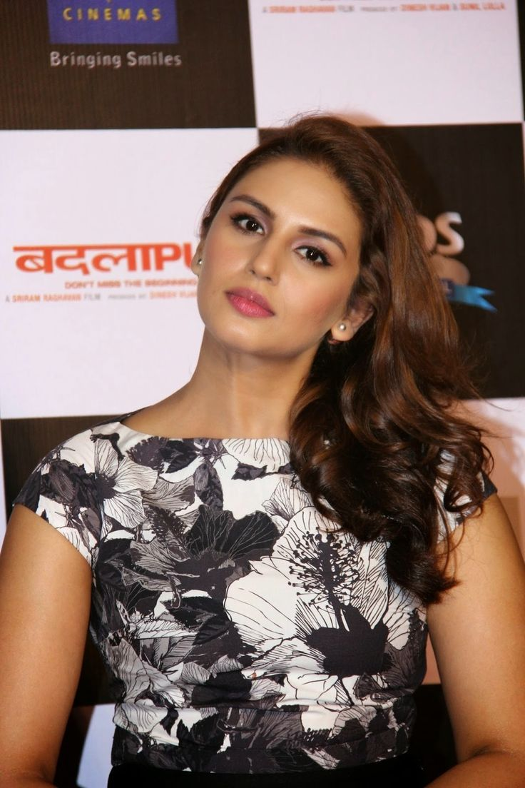 Huma Qureshi Latest Stills In Black Dress - Tollywood Stars