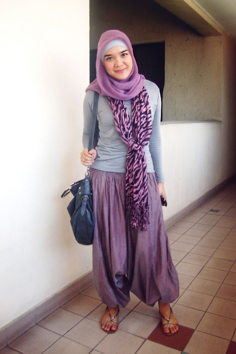 Hijab and outfit