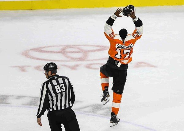 The Flyers play the Predators tonight at 7:00PM ET. Simmonds will be playing tonight despite leaving the last game with a lower body injury. #philadelphia #philadelphiaflyers #flyers #philly #nhl #hockey #predators