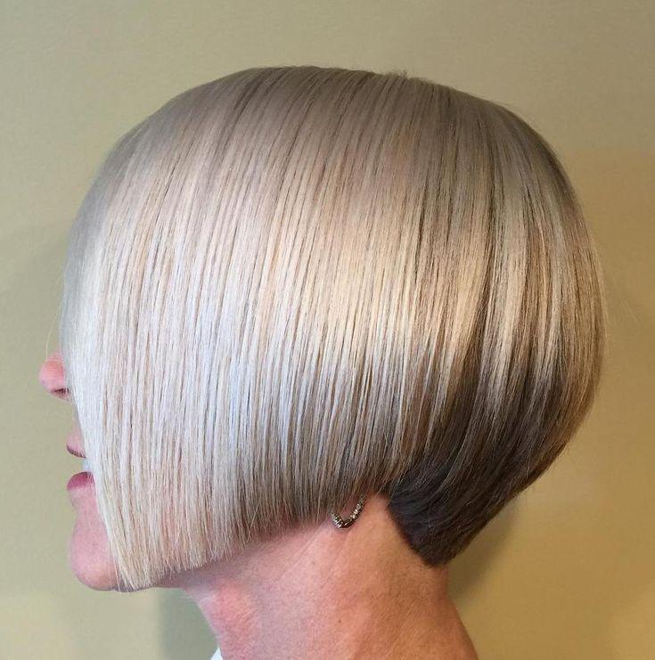 Sleek+Chin-Length+Bob+For+Straight+Hair