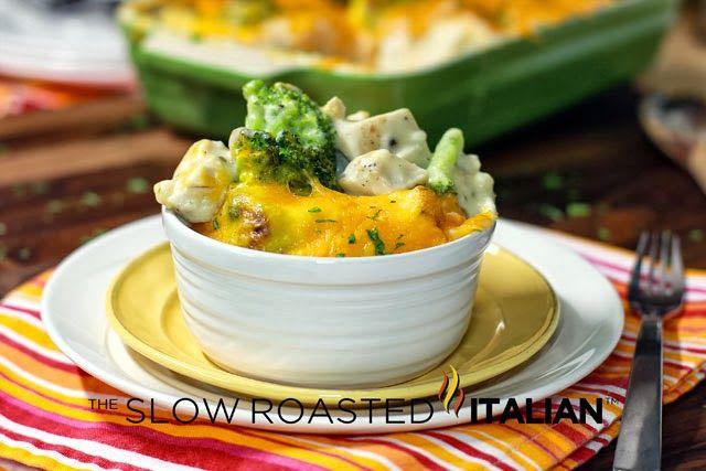 Cheesy Chicken and Broccoli Casserole in 30-Minutes