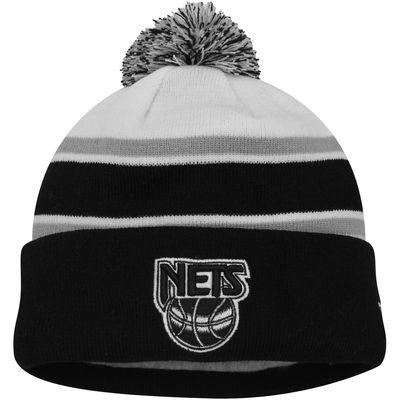 Brooklyn Nets New Era Team Hook Up Cuffed Knit Hat – Black