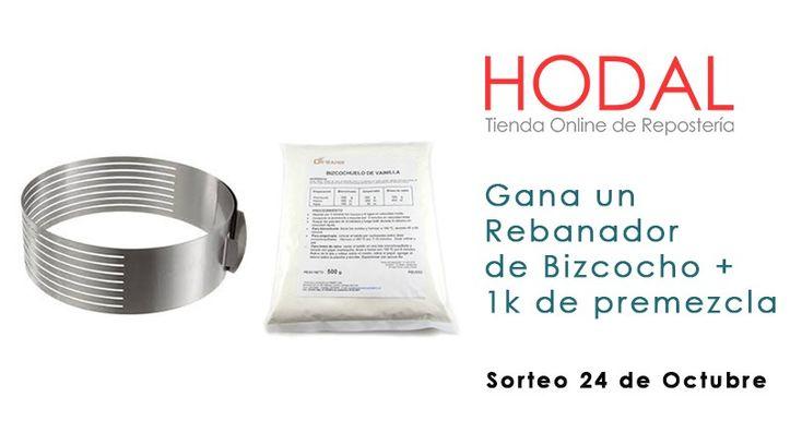 "Sorteo ""Rebanador de Bizcocho + 1k de Premezcla"""