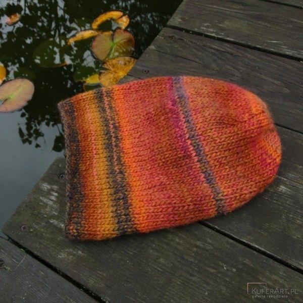 Klon jesiennie / czapka - Czapki, berety - Ubrania