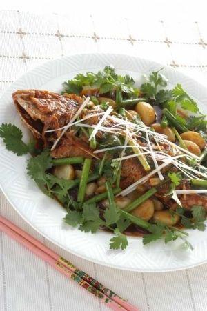 いしもちで清蒸鮮魚(中華風蒸し魚) レシピ・作り方 by leopoo|楽天 ... いしもちを中華風に煮ました。
