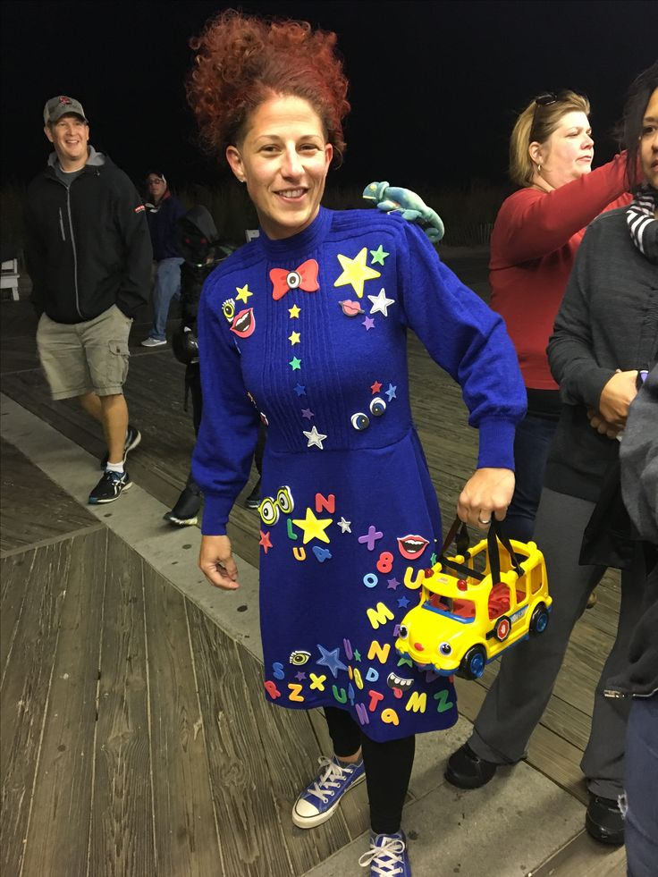 miss frizzle halloween costume