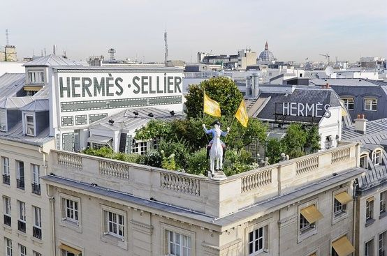 Desperate to smell the perfume Hermès created of their rooftop garden in Paris.