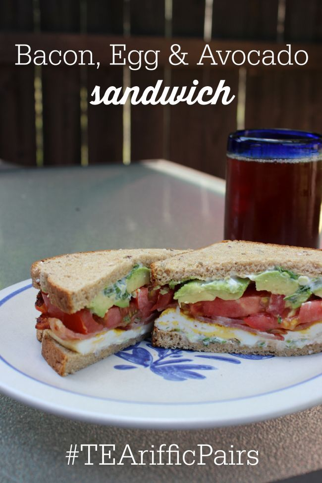 This bacon, egg and avocado sandwich has no words!  It is the perfect hearty and delicious sandwich whether you're entertaining or whether you just want to enjoy a deli style lunch at home.  #ad