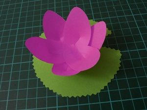 Make your own Lotus Flower, wonderful for little hands. I used these as a Vesak Day Craft. Loved it