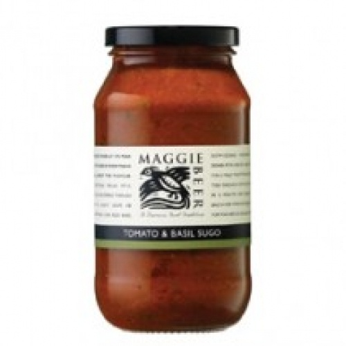 Amazing flavours and great pantry staple  Maggie Beer Tomato Basil Pasta Sauce