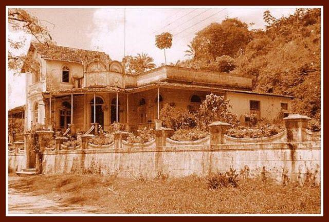 AMARAJI - DO BARONATO AO ANO 2000: A Casa Grande do Engenho Amaraji d´Água.