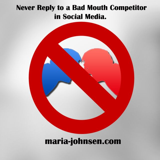 How to Stop a Bad Mouth Competitor  | Multilingual SEO Blog