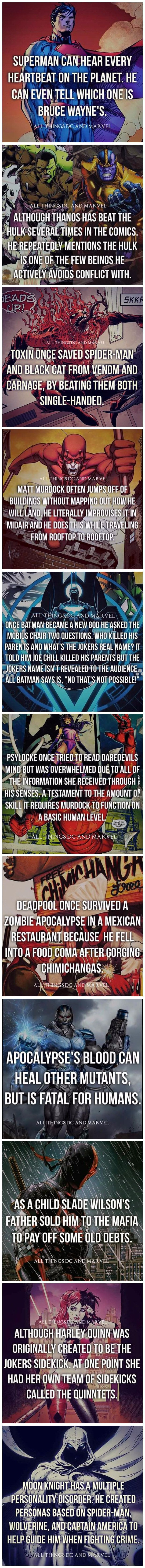 Superhero Facts: Part 1 - 9GAG