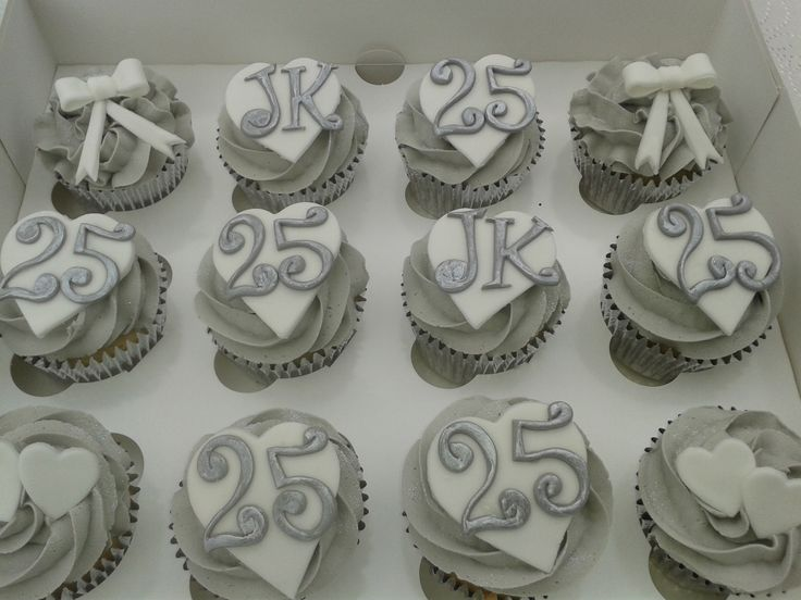 Vanilla cupcakes in silver foil cake cases topped with a swirl of vanilla butter cream finished with hand made decorations box of 12 Cupcakes £25.00 Wheat/Gluten & Dairy Free Available