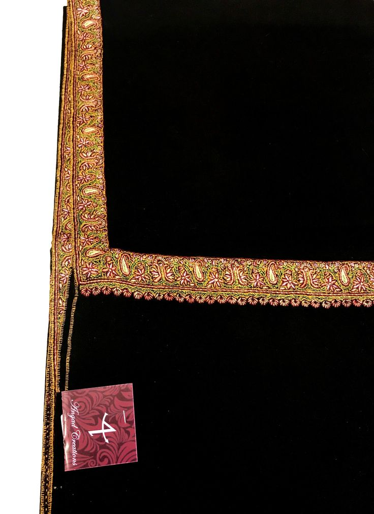 Sozni Hand Embroidered Pure Pashmina Shawl, Pure Cashmere Shawl, Wrap, Shawl, Hand Embroidery, Embroidered by AngadCreations on Etsy #pure #pashmina #cashmere #hand #embroidered #sozni #needle #work #kashmiri #embroidery #natural #Kashmir #multi #colour #shawl #stole #orni #india #wrap #scarf #indian #traditional #ethnic #wear