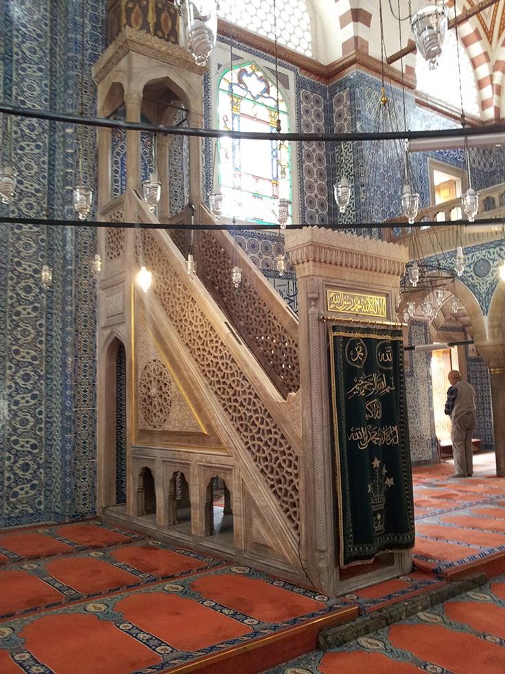 Rustem Pasha Mosque.  (Mimar Sinan)