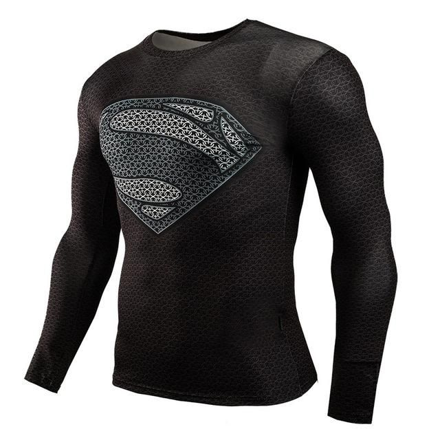Super Hero Compression Long Sleeve T-Shirt