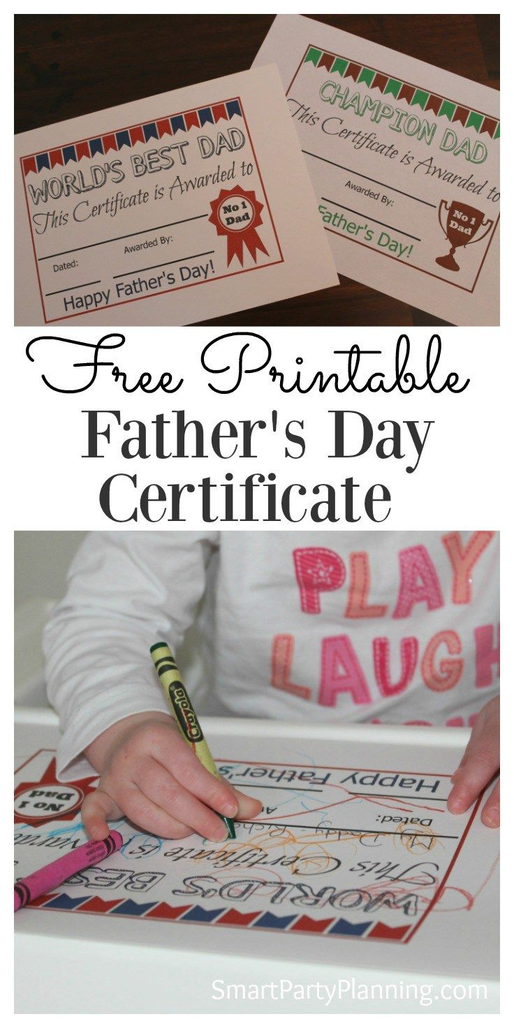 17 best ideas about printable gift certificates fathers day certificate