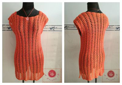 crochet summer air tunic, #haken, gratis patroon, NL vertaling klik op link onderaan patroon (summer air tunic), #haakpatroon, tuniek, top, zomer