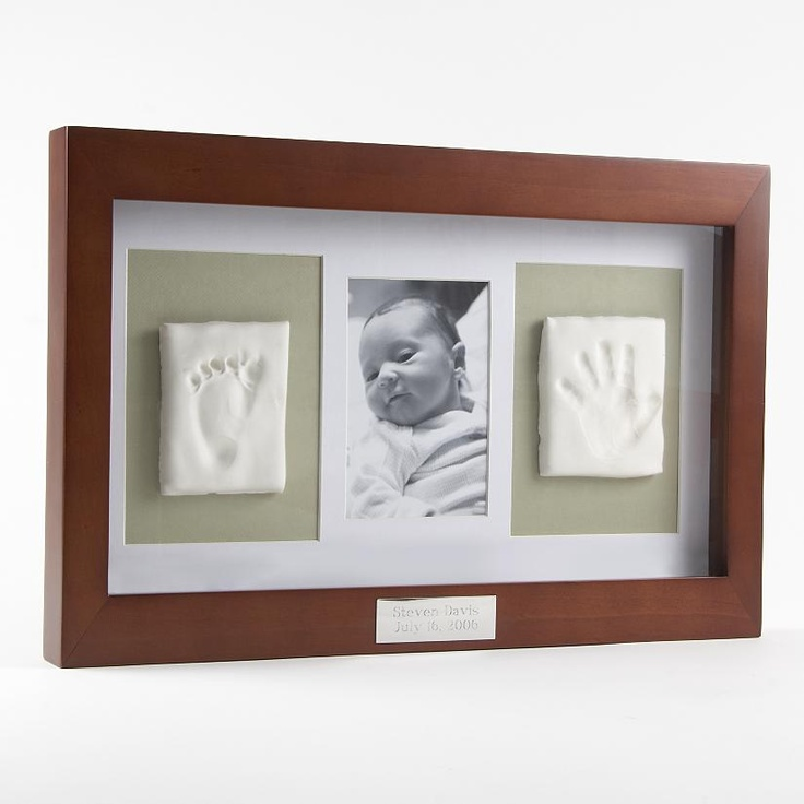 For all my babies and there's handprints in a shadow box w a picture at the age imprint was done