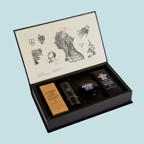 Triumph & Disaster - Gift Box Set of premium men's grooming products