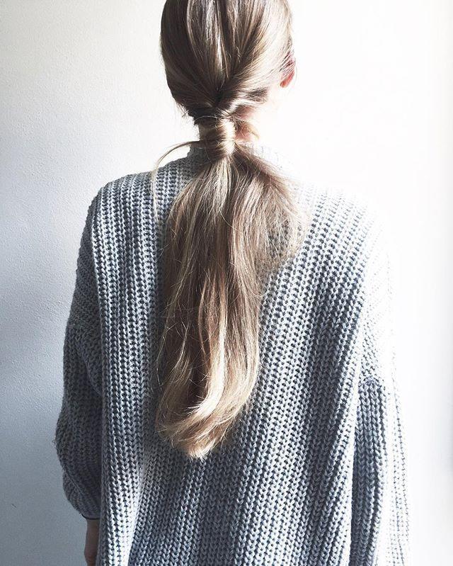 Ponytail morning 👸🏼