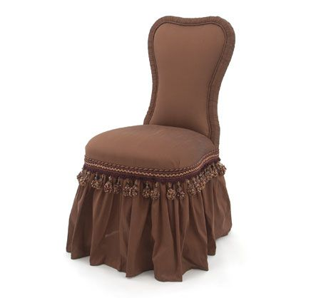 21 best images about chairs on pinterest settees chairs and office chairs - Bedroom vanity chair with back ...