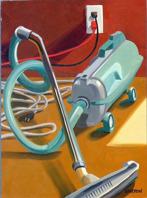 Electrolux by Leigh-Anne Eagerton, painting, via Flickr